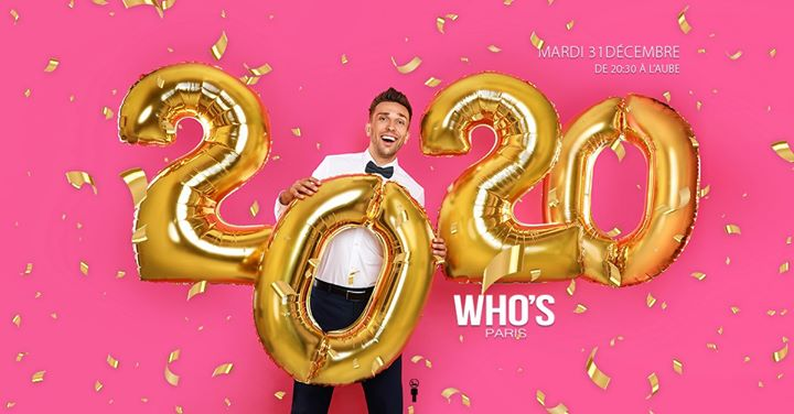 Welcome 2020 in Paris le Tue, December 31, 2019 from 08:30 pm to 08:00 am (Clubbing Gay, Lesbian)
