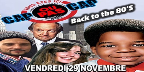 Cap ou pas Cap in Paris le Fr 29. November, 2019 19.00 bis 04.00 (After-Work Gay)