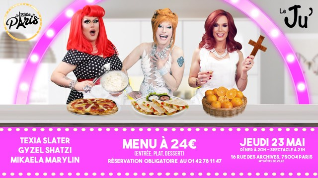 Les Folles de Paris #7 in Paris le Do 23. Mai, 2019 20.00 bis 23.59 (Vorstellung Gay, Lesbierin, Hetero Friendly)