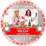Les Folles de Paris au Ju' #3 in Paris le Thu, January 17, 2019 from 08:00 pm to 11:30 pm (Show Gay, Lesbian, Hetero Friendly)