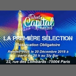 Talent Capital Paris  1ere Selection in Paris le Thu, December 20, 2018 from 08:00 pm to 01:00 am (Show Gay, Lesbian, Trans, Bi)