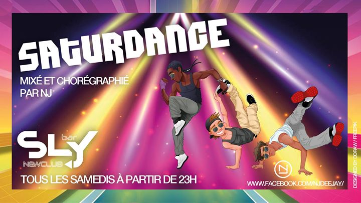 SaturDance in Paris le Sa 25. Juli, 2020 23.00 bis 05.00 (After-Work Gay)