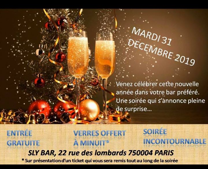 2020 in Paris le Tue, December 31, 2019 at 08:00 pm (Clubbing Gay)