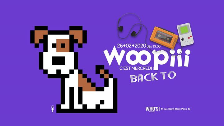Woopiii Back To a Parigi le mer 26 febbraio 2020 19:00-02:00 (After-work Gay)