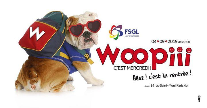 Woopiii allez ! c'est la rentrée ! in Paris le Wed, September  4, 2019 from 06:00 pm to 02:00 am (After-Work Gay)