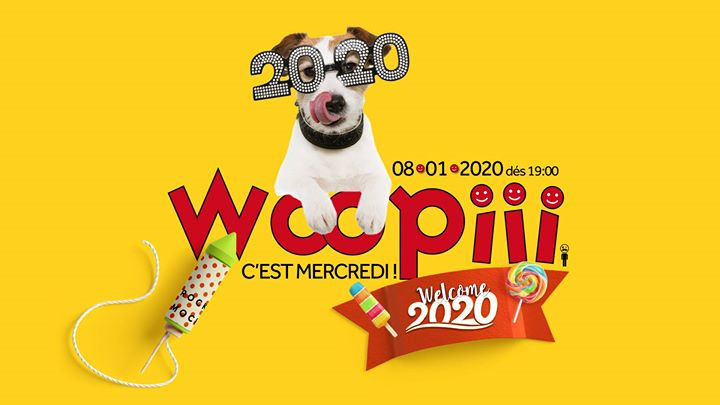 Woopiii lâche les chiens en 2020 in Paris le Wed, January  8, 2020 from 07:00 pm to 02:00 am (After-Work Gay)