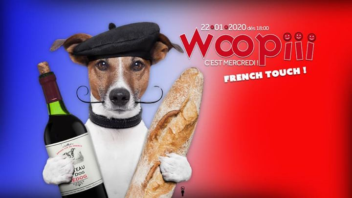 Woopiii French Touch #2 x La Laverie Pré-Party a Parigi le mer 22 gennaio 2020 19:00-02:00 (After-work Gay)