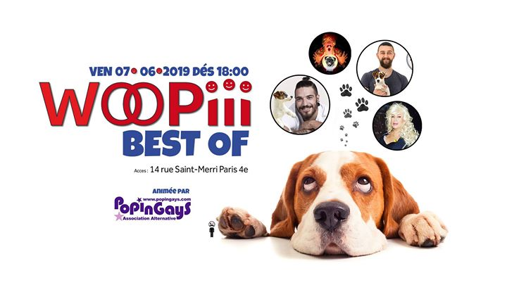 Woopiii Best of _ Vendredi 7 juin en Paris le vie  7 de junio de 2019 18:00-03:00 (After-Work Gay)