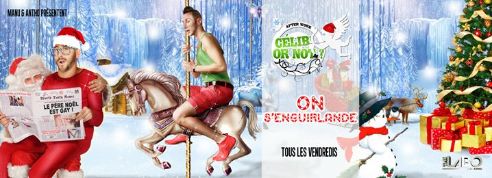 After Work Célib' or not in Paris le Fri, December 20, 2019 from 03:00 pm to 05:00 am (Clubbing Gay, Lesbian)