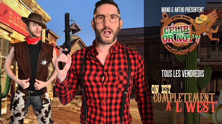 After Work Célib' or not in Paris le Fri, March  6, 2020 from 03:00 pm to 05:00 am (Clubbing Gay, Lesbian)