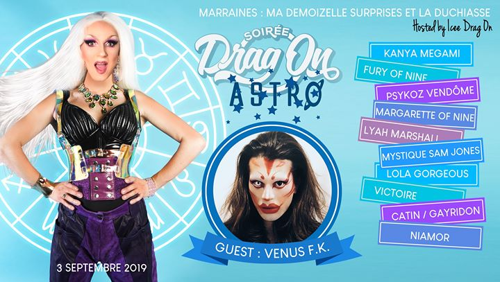 Drag on Saison 2 #1 Astro in Paris le Di  3. September, 2019 20.00 bis 01.00 (After-Work Gay)