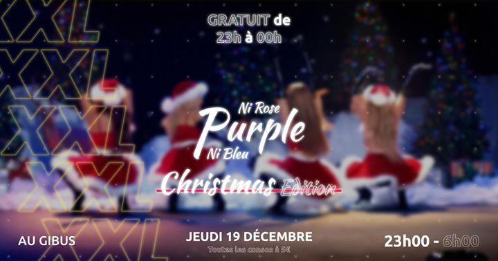 Purple XXL : Christmas édition a Parigi le gio 19 dicembre 2019 23:00-06:00 (Clubbing Gay, Lesbica)