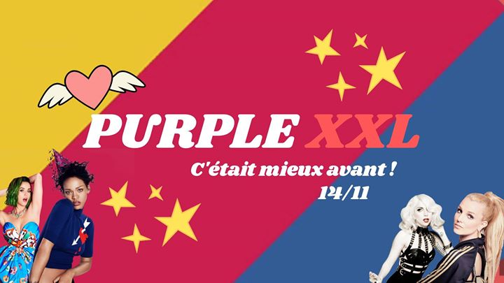 Purple XXL : c'était mieux avant ! in Paris le Do 14. November, 2019 23.30 bis 06.00 (Clubbing Gay, Lesbierin)