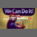 Purple XL : La soirée étudiante lgbt+ en Paris le vie 29 de marzo de 2019 20:00-04:00 (Clubbing Gay, Lesbiana)