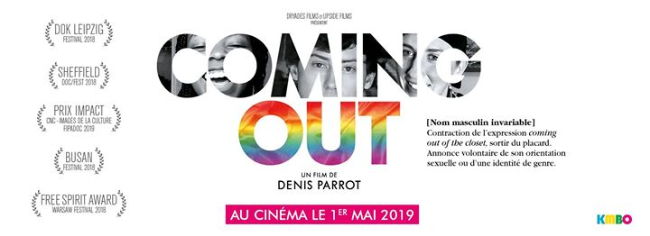 Projection-débat Frontignan - Coming Out a Frontignan le mar 28 maggio 2019 19:00-21:00 (Cinema Gay, Lesbica, Trans, Bi)