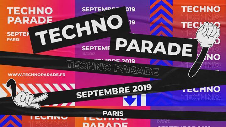 Techno Parade 2019 à Paris le sam. 28 septembre 2019 de 12h00 à 20h00 (Parades / Défilés Gay Friendly)