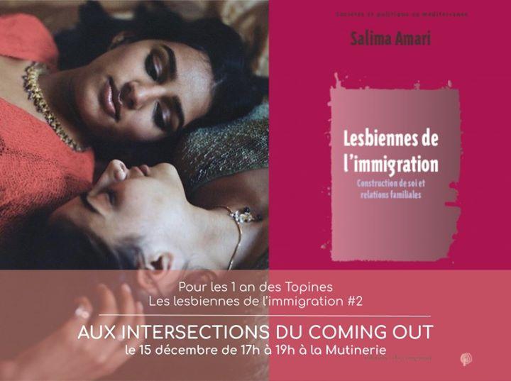 Lesbiennes de l'immigration #2: aux intersections du coming out in Paris le So 15. Dezember, 2019 17.00 bis 01.00 (Begegnungen Lesbierin)