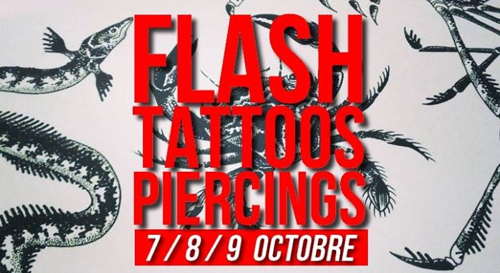 Flash-tattoos et piercings // 3 jours in Paris le Mon, October  7, 2019 from 05:00 pm to 11:30 pm (Workshop Lesbian)