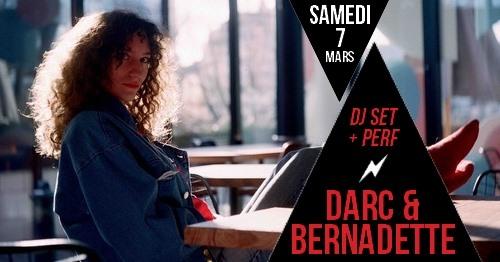 DJ set + performance vocale : Bernadette & Darc in Paris le Sat, March  7, 2020 from 09:30 pm to 01:30 am (After-Work Lesbian)