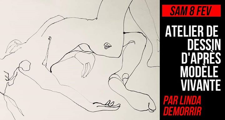 [COMPLET] Atelier de dessin d'après modèle vivante in Paris le Sat, February  8, 2020 from 01:00 pm to 03:00 pm (Workshop Lesbian)