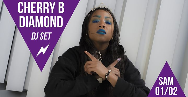 DJ set : Cherry B Diamond in Paris le Sa  1. Februar, 2020 21.30 bis 01.30 (After-Work Lesbierin)