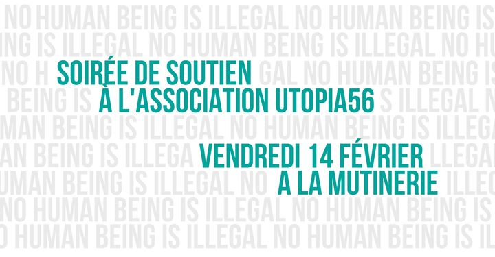 Soirée de soutien à Utopia 56 in Paris le Fr 14. Februar, 2020 21.30 bis 01.30 (After-Work Lesbierin)