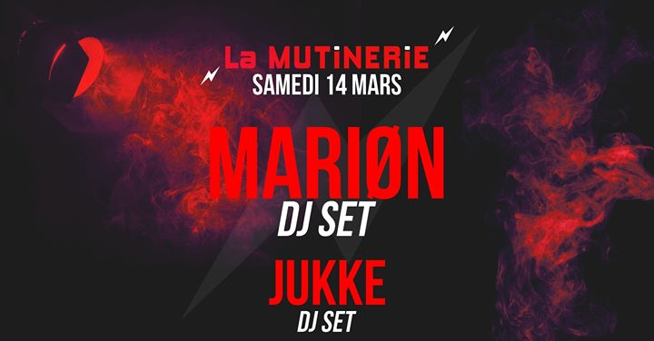 DJ sets : Mariøn x JUKKE in Paris le Sat, March 14, 2020 from 09:30 pm to 01:30 am (After-Work Lesbian)