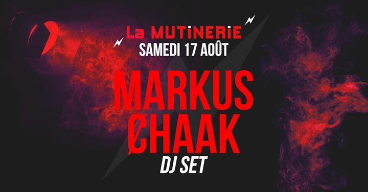 DJ set : Markus Ȼhaak à Paris le sam. 17 août 2019 de 21h30 à 01h30 (After-Work Lesbienne)