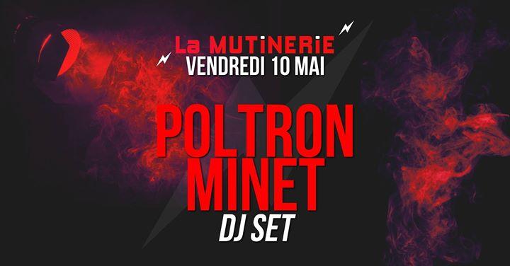 DJ set : Poltron Minet à Paris le ven. 10 mai 2019 de 21h30 à 01h30 (After-Work Lesbienne)