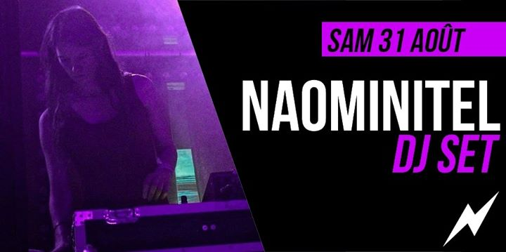 DJ set : Naominitel in Paris le Sat, August 31, 2019 from 09:30 pm to 01:30 am (After-Work Lesbian)