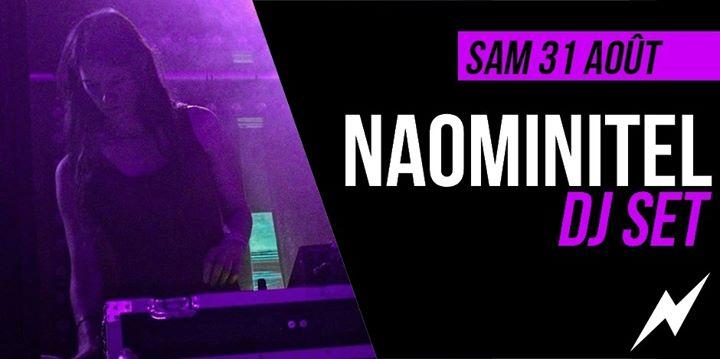 DJ set : Naominitel à Paris le sam. 31 août 2019 de 21h30 à 01h30 (After-Work Lesbienne)