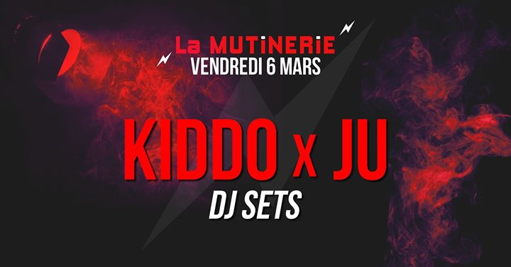 DJ sets : KIDDO x ju em Paris le sex,  6 março 2020 21:30-01:30 (After-Work Lesbica)
