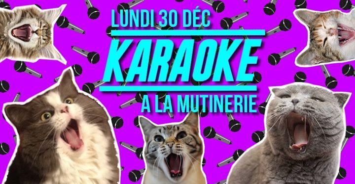 Karaoké à la Mutinerie in Paris le Mon, December 30, 2019 from 07:30 pm to 01:00 am (After-Work Lesbian)