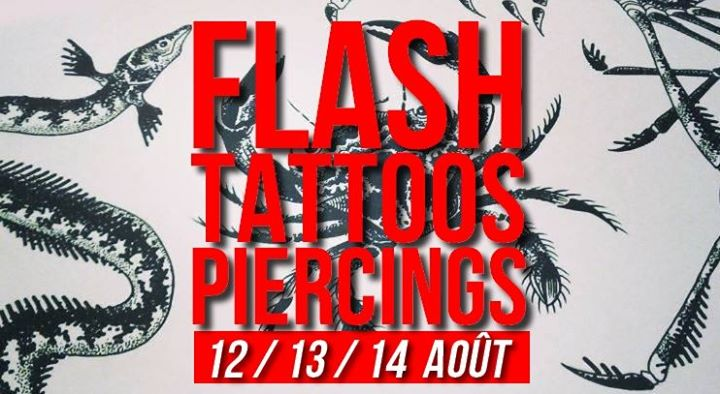 Flash-tattoos et piercings // 3 jours in Paris le Mon, August 12, 2019 from 05:00 pm to 11:30 pm (Workshop Lesbian)