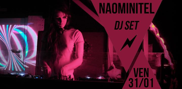 DJ set : Naominitel à Paris le ven. 31 janvier 2020 de 21h30 à 01h30 (After-Work Lesbienne)