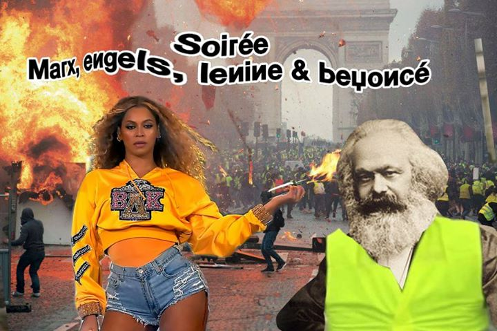 Soirée Marx, Engels Lenine & Beyoncé à la Mutinerie in Paris le Sat, May 18, 2019 from 09:00 pm to 01:00 am (After-Work Lesbian)