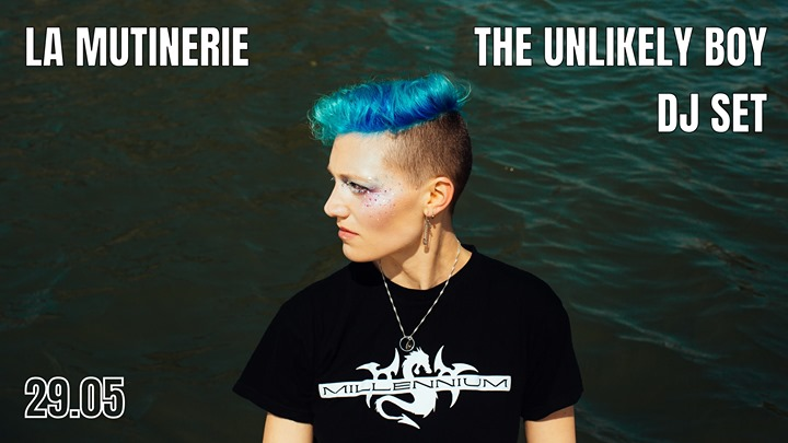 DJ set : The Unlikely Boy in Paris le Wed, May 29, 2019 from 09:30 pm to 01:30 am (After-Work Lesbian)