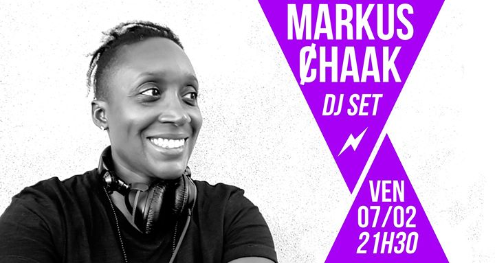 DJ set : Markus Ȼhaak in Paris le Fr  7. Februar, 2020 21.30 bis 01.30 (After-Work Lesbierin)