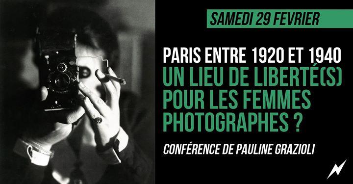 Paris et les femmes photographes dans les années 1920-1940 in Paris le Sat, February 29, 2020 from 05:00 pm to 07:00 pm (After-Work Lesbian)
