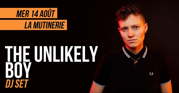 DJ set : The Unlikely Boy à Paris le mer. 14 août 2019 de 21h30 à 01h30 (After-Work Lesbienne)