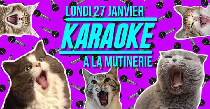 Karaoké de la Mutinerie in Paris le Mon, January 27, 2020 from 07:30 pm to 01:00 am (After-Work Lesbian)