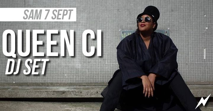 DJ set : Queen Ci in Paris le Sat, September  7, 2019 from 09:30 pm to 01:30 am (After-Work Lesbian)