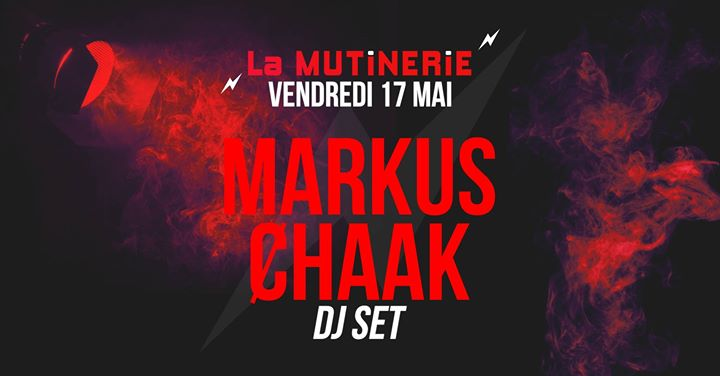 DJ set : Markus Ȼhaak in Paris le Fri, May 17, 2019 from 09:30 pm to 01:30 am (After-Work Lesbian)