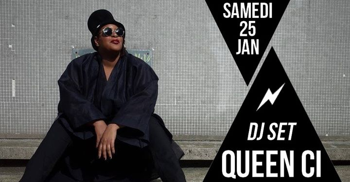 DJ set : Queen Ci en Paris le sáb 25 de enero de 2020 21:30-01:30 (After-Work Lesbiana)