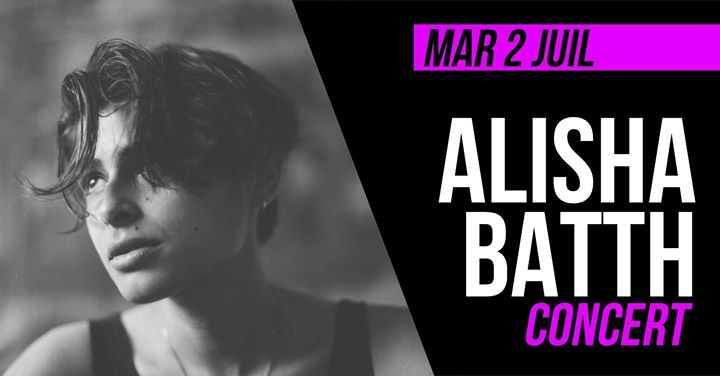 Concert : Alisha Batth à Paris le mar.  2 juillet 2019 de 20h30 à 21h30 (After-Work Lesbienne)