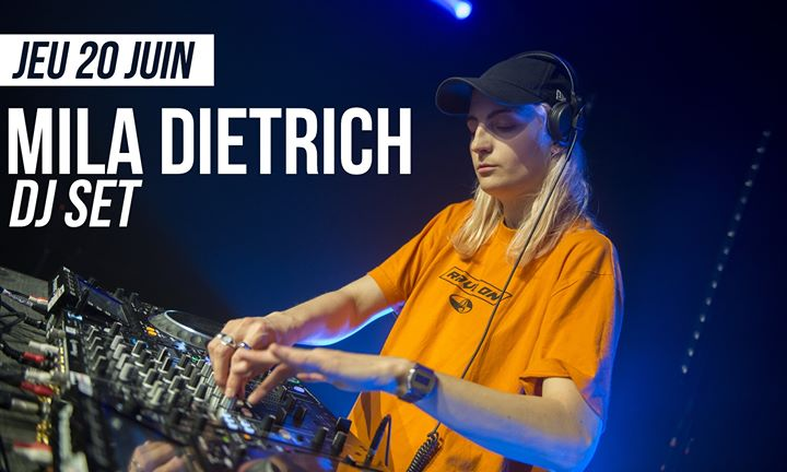 DJ set : Mila Dietrich à Paris le jeu. 20 juin 2019 de 21h30 à 01h30 (After-Work Lesbienne)