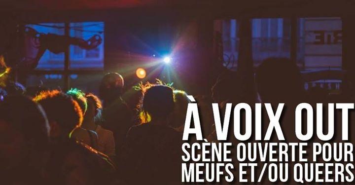 À voix out - Scène ouverte pour Meufs et/ou Queers à Paris le lun. 26 août 2019 de 19h30 à 23h00 (After-Work Lesbienne)