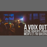À voix out - scène ouverte pour Meufs et/ou Queers in Paris le Mon, December 17, 2018 from 07:00 pm to 10:30 pm (After-Work Lesbian)