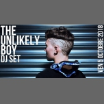 DJ set : The Unlikely Boy in Paris le Fri, October  5, 2018 from 09:30 pm to 01:30 am (After-Work Lesbian)