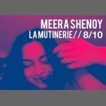 Concert : Meera Shenoy à Paris le dim.  8 octobre 2017 de 19h30 à 20h30 (After-Work Lesbienne)